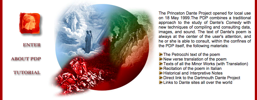 The Princeton Dante Project
